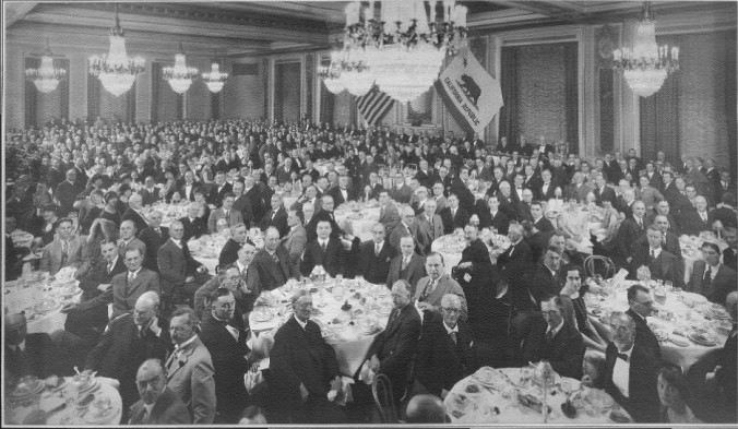 San Francisco Lawyers Celebrate the New Integrated Bar 1927