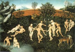 The Golden Age by Louis Cranach The Elder